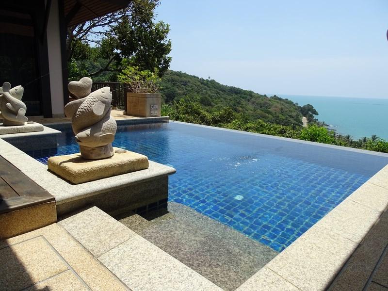 33. Statui la piscina