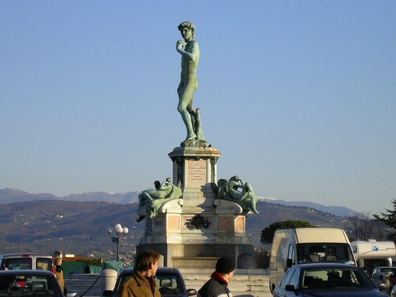 07. Statuia din Piazzale Michelangelo