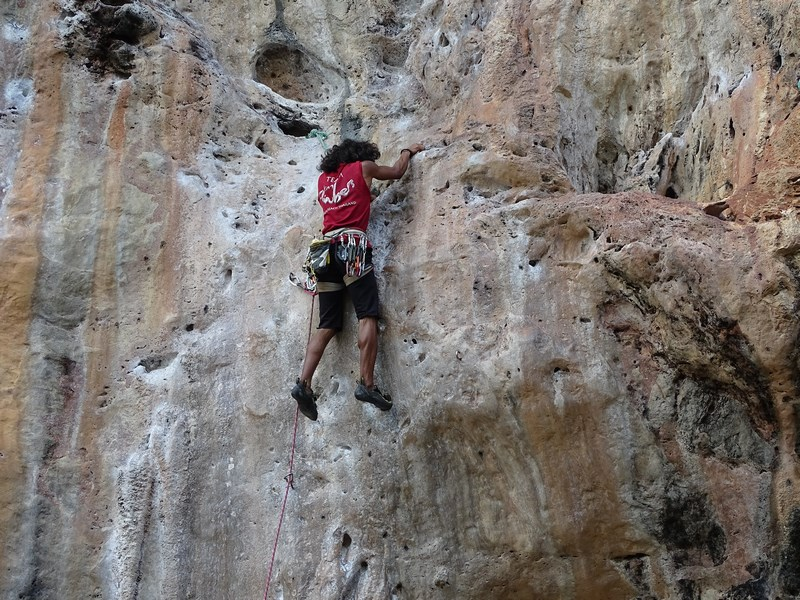 18. Profesionist in climbing