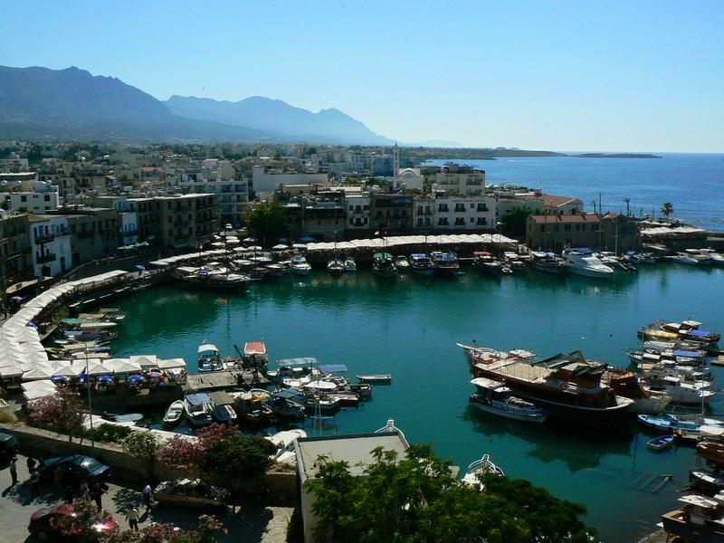 23. Panorama portului Girne