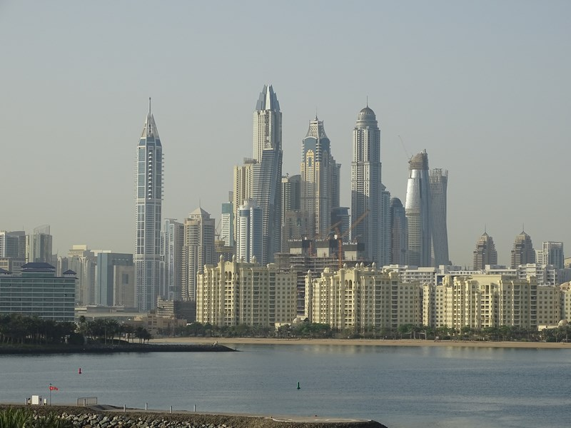 10. Dubai panorama