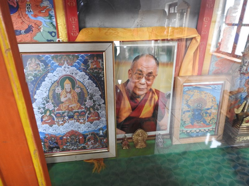 12. Dalai Lama in Mongolia