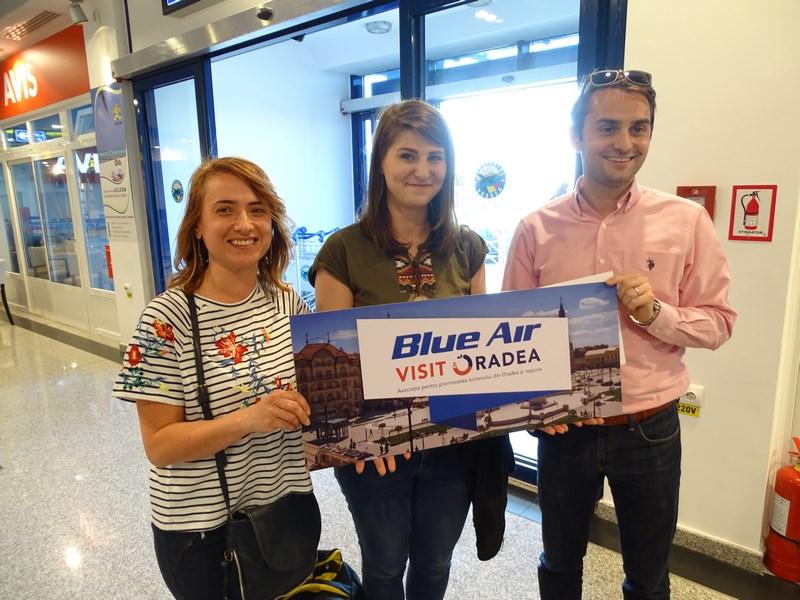 12. Visit Oradea & Blue Air