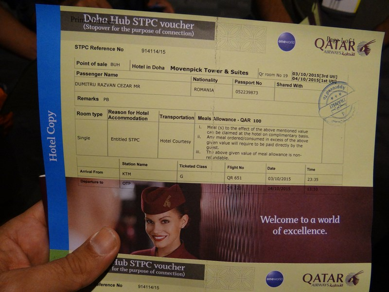 15. STPC voucher - Doha