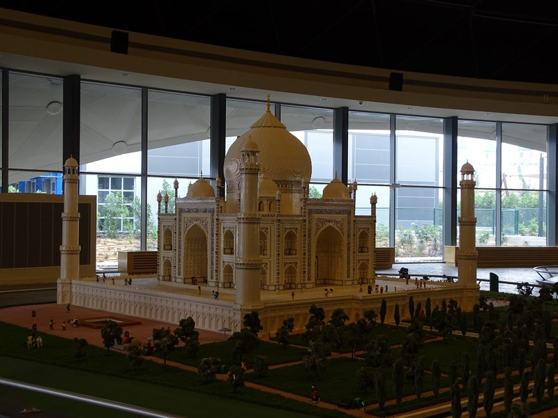 15. Taj Mahal - lego