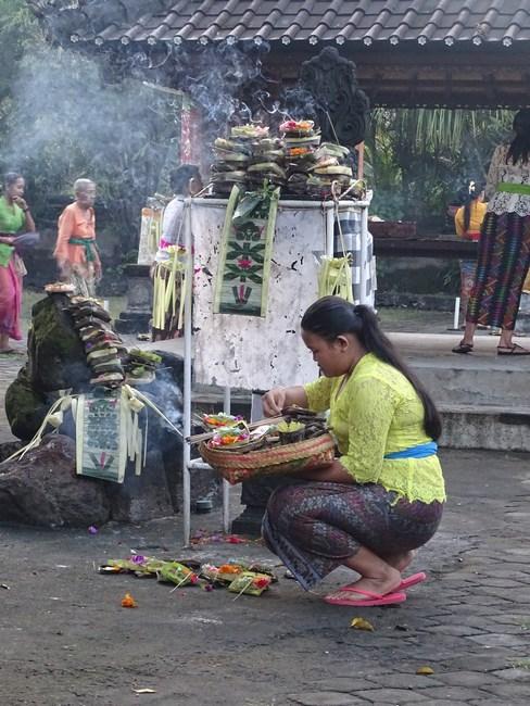 17. Offering Bali