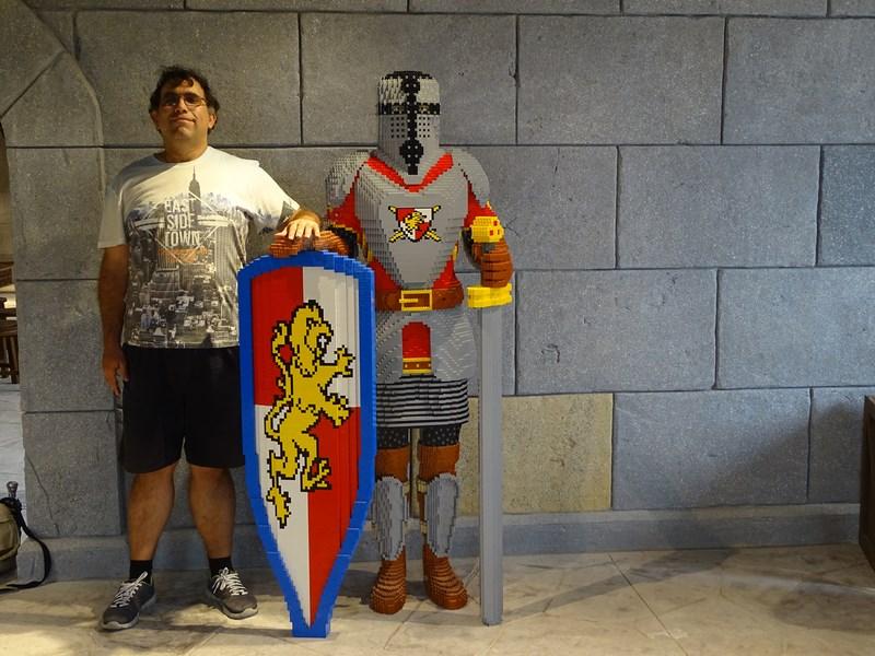 20. Cavaler de lego