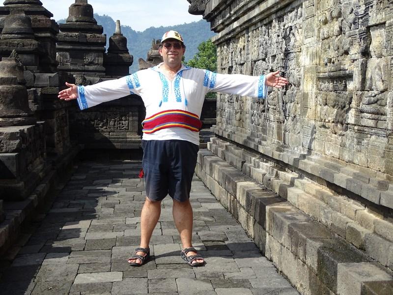 20. Imperator la Borobudur