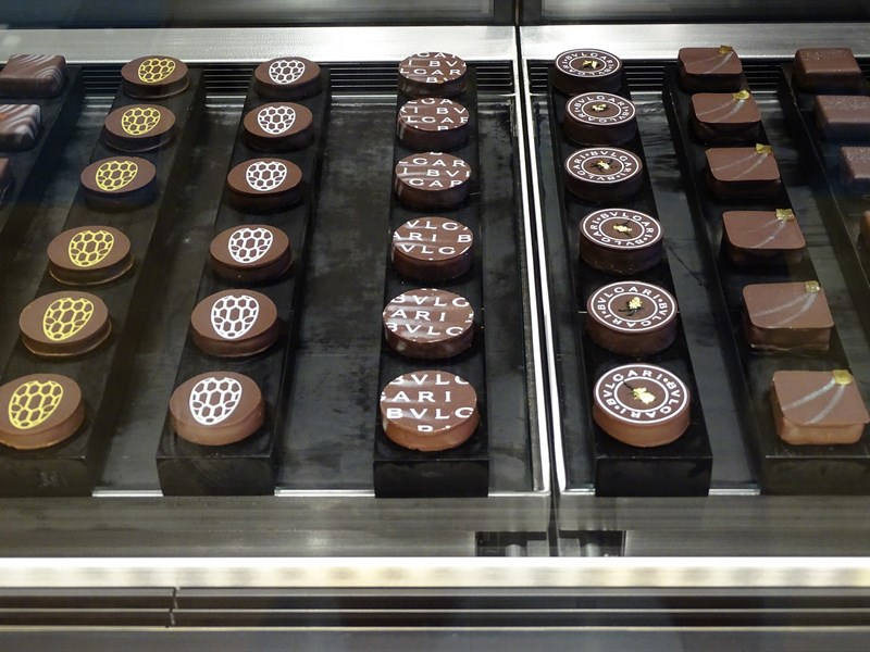 25. Ciocolata Bulgari