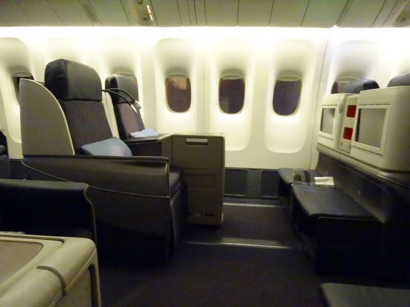 38. TK business class seat