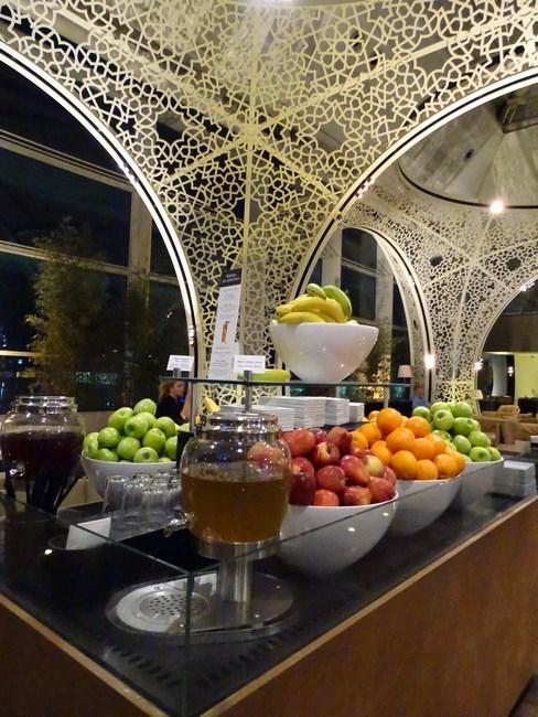 59. Breakfast in Istanbul lounge