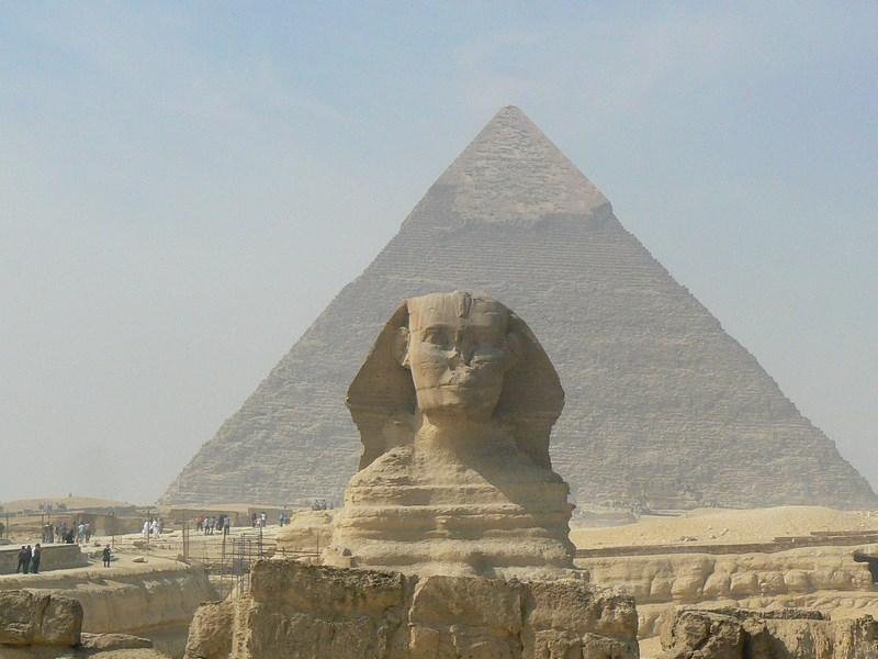 10. Sfinx, Cairo, Egipt. Valea Nilului