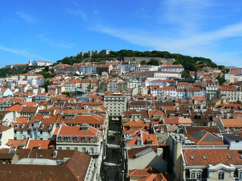 11. Panorama Lisabona din Bairro Alto