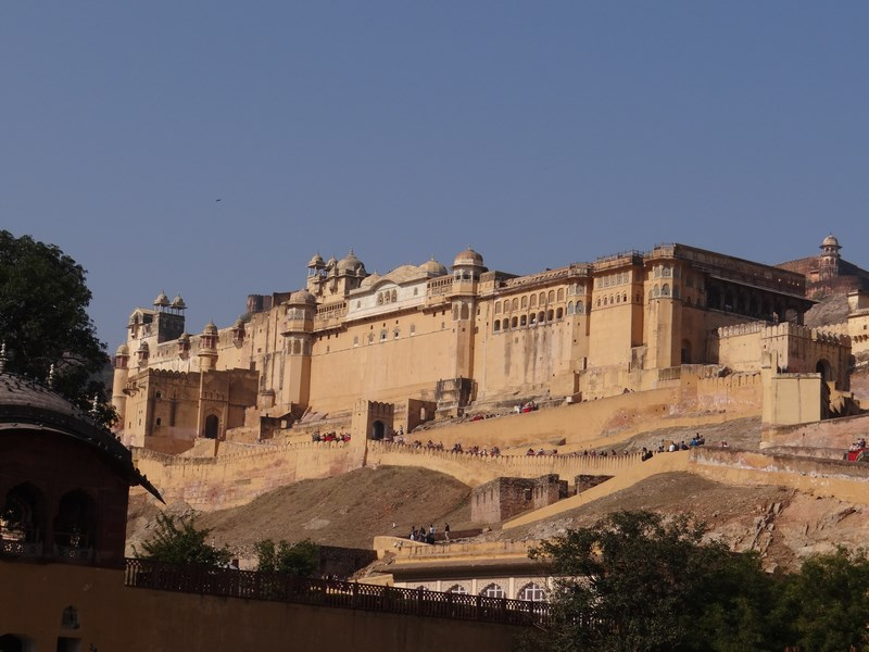 12. Amber Fort