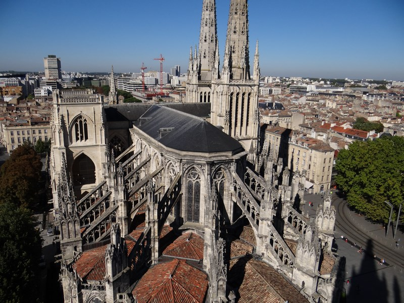 12. Pe acoperisul catedralei