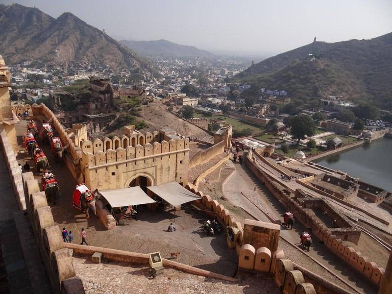 13. Panorama Amber Fort