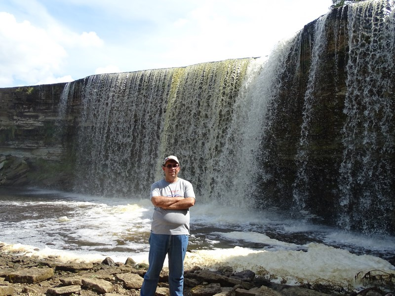 . Jagala Waterfall Estonia