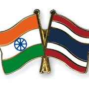 Flag Pins India Thailand