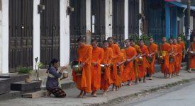 132. Ceremonie Calugari Budisti