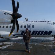 6. Eu Cu Un Avion ATR 42 Al Tarom