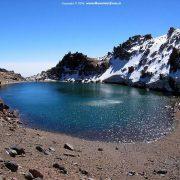 14. Iran Sabalan Lacul De Crater Din VarfIMZ