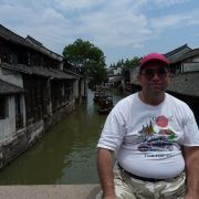 13. Pe Un Pod Peste Un Canal In Wuzhen Copy