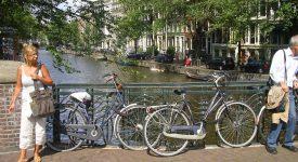 4. Bicicletele Principalul Mijloc De Transport Din Amsterdam