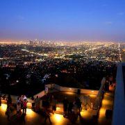 0. Cover Downtown LA Vazut Dinspre Observatorul Griffith De Data Asta Noaptea