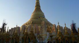 1. Pagoda Shwedagon Yangon
