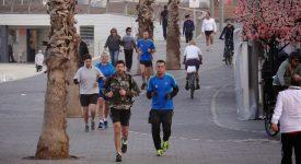 40. Jogging In Tel Aviv