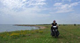 Alina Ene Cu Bicicleta In Bulgaria