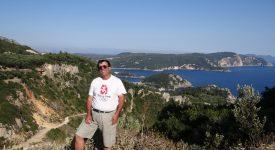 27. Pe Citadela Angelokastro In Corfu