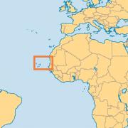 Cape Verde In Africa