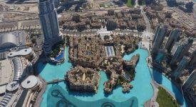 18. Panorama Din Burj Khalifa