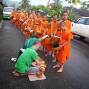 11. Alms Giving Ceremony