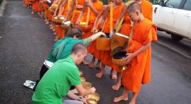 11. Alms Giving Ceremony