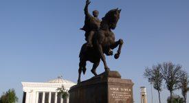 13. Statuia Lui Timur Lenk Taskent