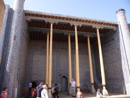 16. Palatul hanului din Khiva