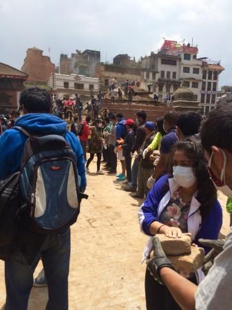 17. Voluntari in Nepal