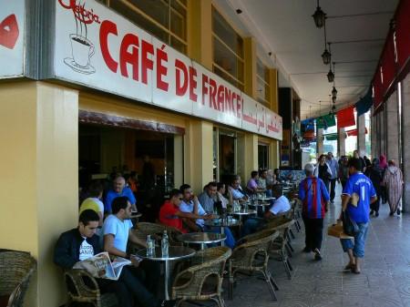18. Cafe de France Casablanca