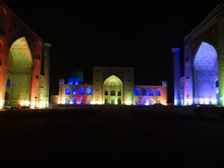 22. Sound and light show Registan Samarkand