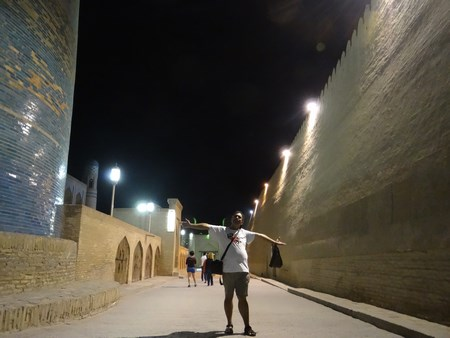 41. Khiva by night