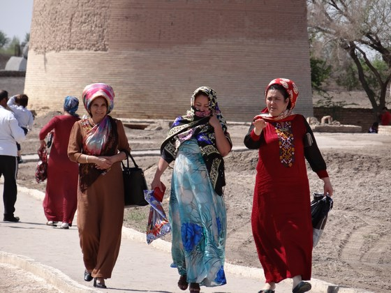 15. Haine traditionale turkmene