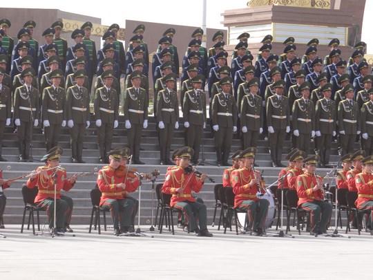 17. Corul armatei turkmene