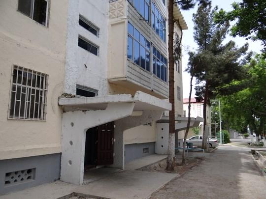 20, Cartierul rusesc din Asgabat