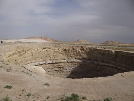 22. Crater Turkmenistan