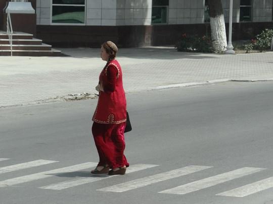 22. Studenta Turkmenistan