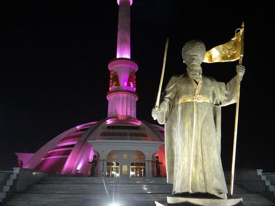 26. Monumentul Independentei Turkmene