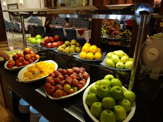 29. Fructe la Mardan Palace