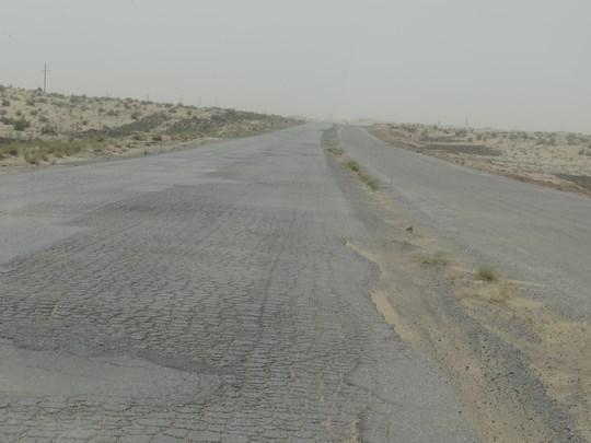 31. Soseaua spre Asgabat